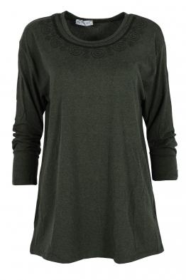 Дамска блуза ARENA зелена