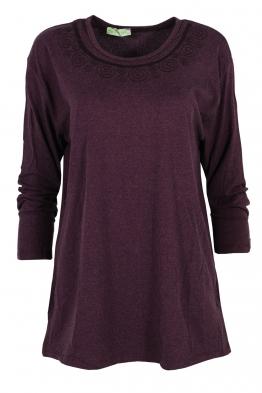 Дамска блуза ARENA патладжан