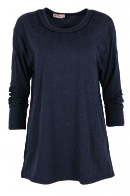 Дамска блуза ARENA тъмно синя