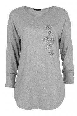 Дамска блуза ESMIRA сива