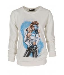 Дамска блуза МЕРИ D -1 бяла