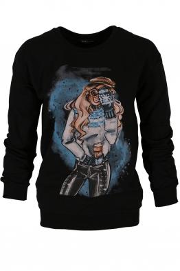 Дамска блуза МЕРИ D -1 черна