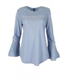 Дамска блуза с дълъг ръкав ЛИЛИАН