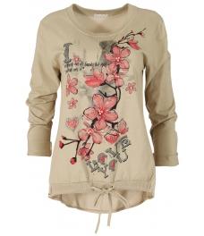 Дамска блуза FANCY бежова