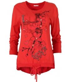 Дамска блуза FANCY червена