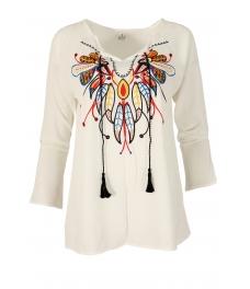 Дамска блуза FEATHERS