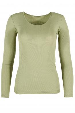 Дамска блуза ДЖИЯ зелен