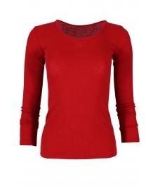 Дамска блуза ДЖИЯ винено червен