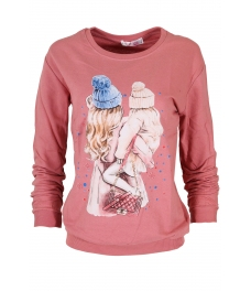 Дамска блуза МЕРИ F-1 розова
