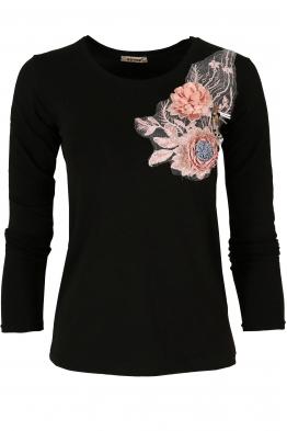 Дамска блуза RIVA черна