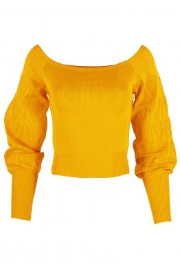 Дамска блуза АЛЕХАНДРА жълта