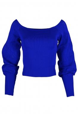 Дамска блуза АЛЕХАНДРА кралско синя