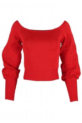 Дамска блуза АЛЕХАНДРА червена