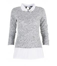Дамска блуза Верде A-10 сива