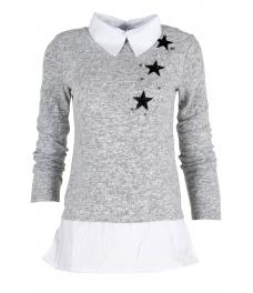Дамска блуза Верде A-6 сива