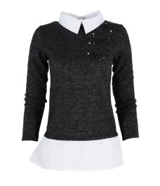 Дамска блуза Верде A-7 черна