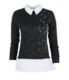 Дамска блуза Верде A-8 черна