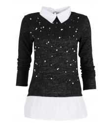 Дамска блуза Верде A-9 черна