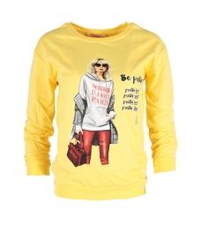 Дамска блуза МЕРИ К-1 жълта