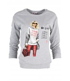 Дамска блуза МЕРИ К-1 сива