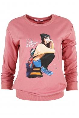 Дамска блуза МЕРИ G-1 розова