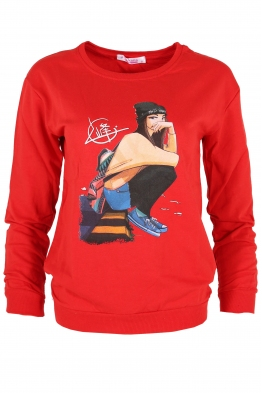 Дамска блуза МЕРИ G-1 червена