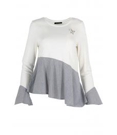 Дамска блуза НАНСИ бяла