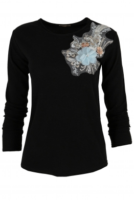 Дамска блуза RIVA C -1 черна