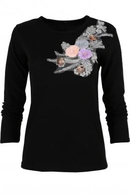 Дамска блуза RIVA D -1 черна