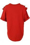 Дамска блуза ДАРА червена -  с дефект
