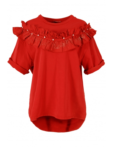 Дамска блуза ДАРА червена
