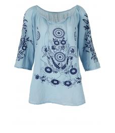 Дамска блуза ЕТНА синя