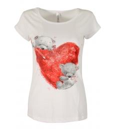 Дамска блуза BEAR LOVE бяла