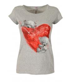 Дамска блуза BEAR LOVE сива