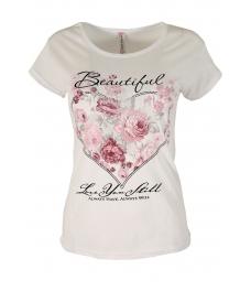 Дамска блуза BEAUTIFUL бяла