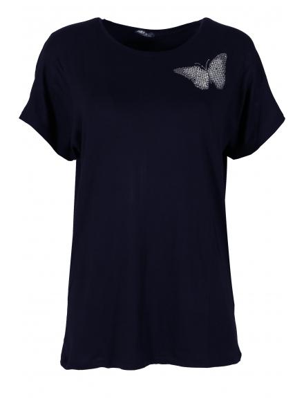 Дамска блуза BIG STAR А-1 тъмно синя