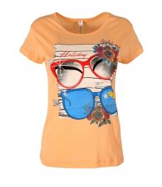 Дамска блуза HOLIDAY ябълков цвят