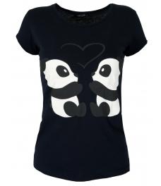 Дамска блуза PANDA тъмно синя