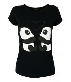Дамска блуза PANDA черна