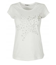 Дамска блуза STARS бяла
