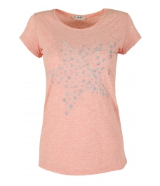 Дамска блуза STARS пудра