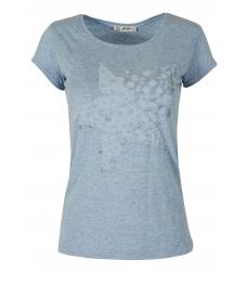 Дамска блуза STARS светло синя