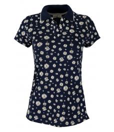 Дамска блуза 8020 тъмно синя