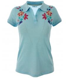Дамска блуза 7229 аква