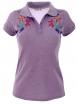 Дамска блуза 7229 лилава