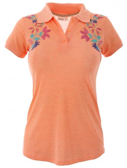 Дамска блуза 7229 праскова