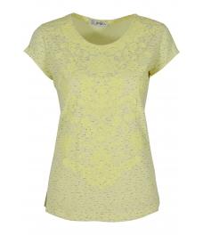 Дамска блуза АННА жълт меланж