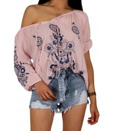 Дамска блуза ЕТНА розова