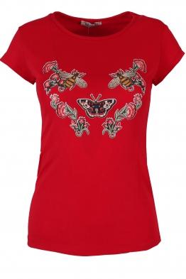 Дамска блуза ФЛАЙ червена