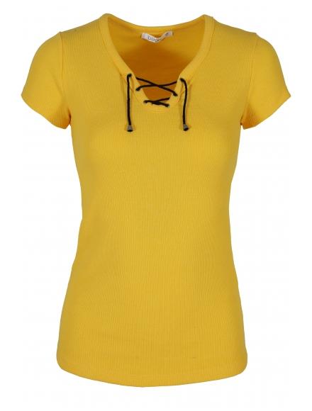 Дамска блуза 8002 жълта